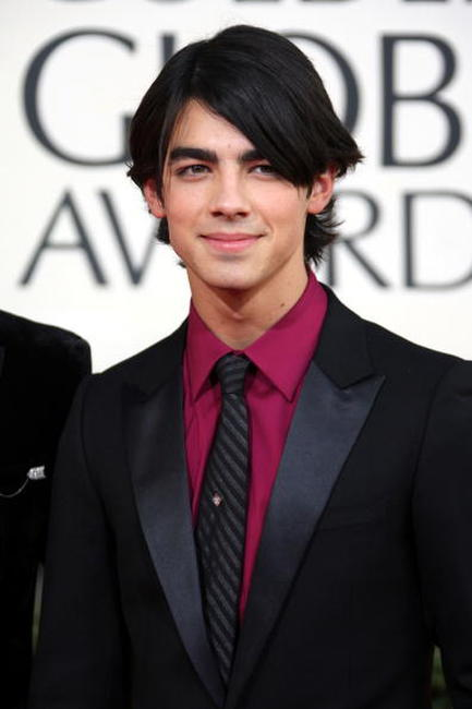 Joe Jonas at the 66th Annual Golden Globe Awards.
